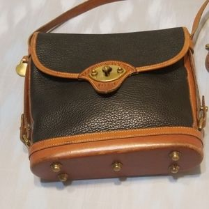 All weather leather Dooney Bourke cross body